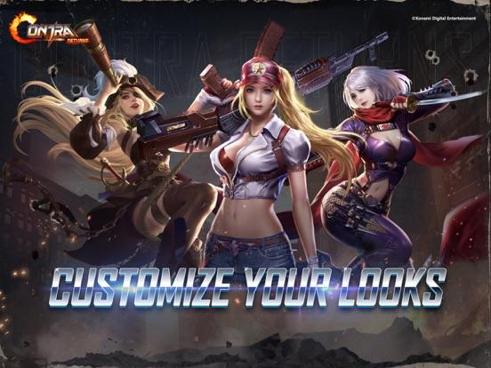 iPad Image of Contra Returns