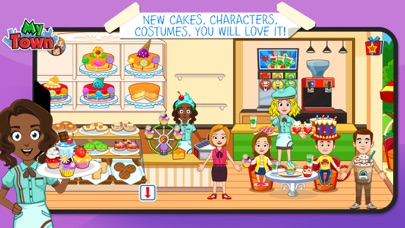My Town : Sweet Bakery Empire screenshot 2