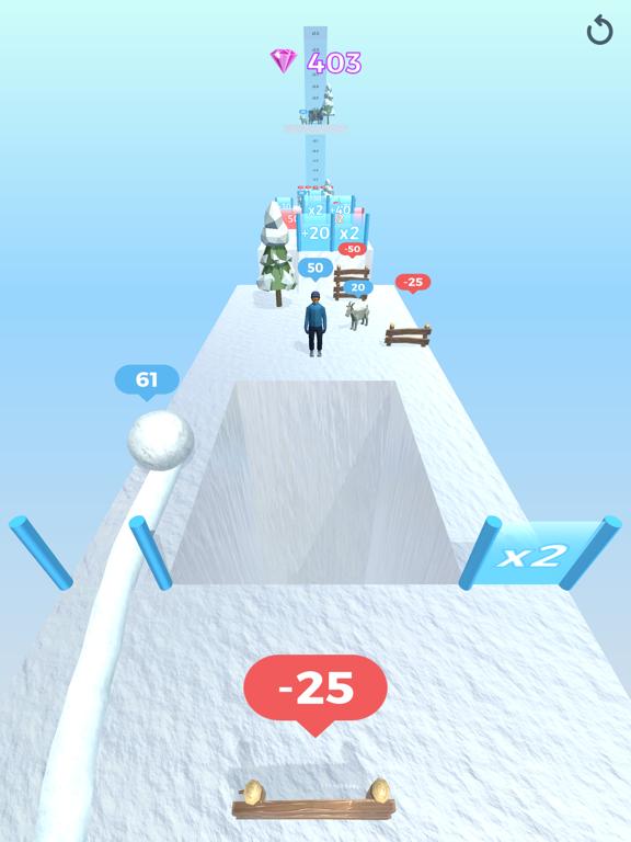 Snowball Effect 3D screenshot 17