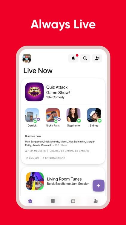 Airtime | A live social space