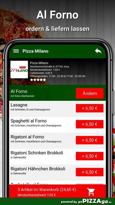 Pizza Milano Jena screenshot 6