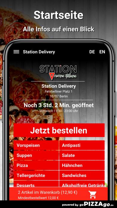 Station Delivery Berlin screenshot 2