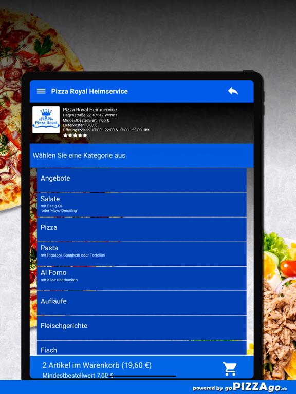 Pizza Royal Heimservice Worms screenshot 8