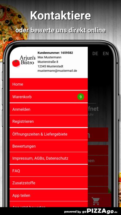 Arjuns Bistro Dresden screenshot 3