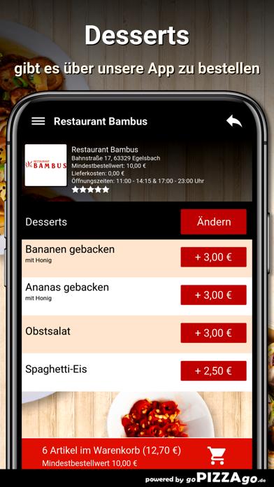 Restaurant Bambus Egelsbach screenshot 6