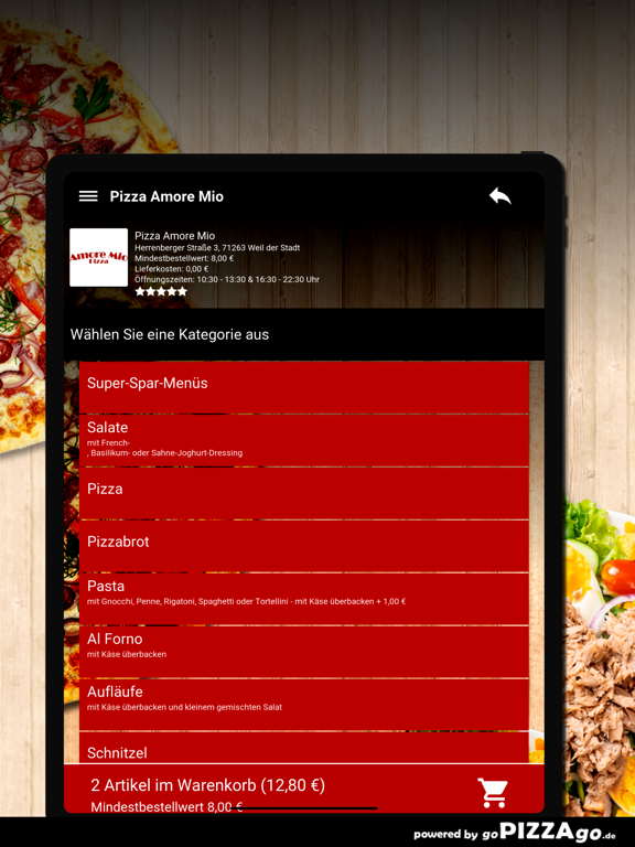 Pizza Amore Mio Weil der Stadt screenshot 8
