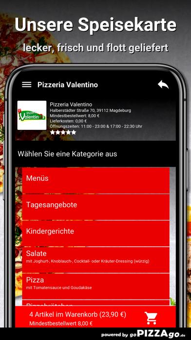 Pizzeria Valentino Magdeburg screenshot 4