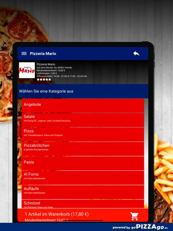 Pizzeria Mario Voerde screenshot 7