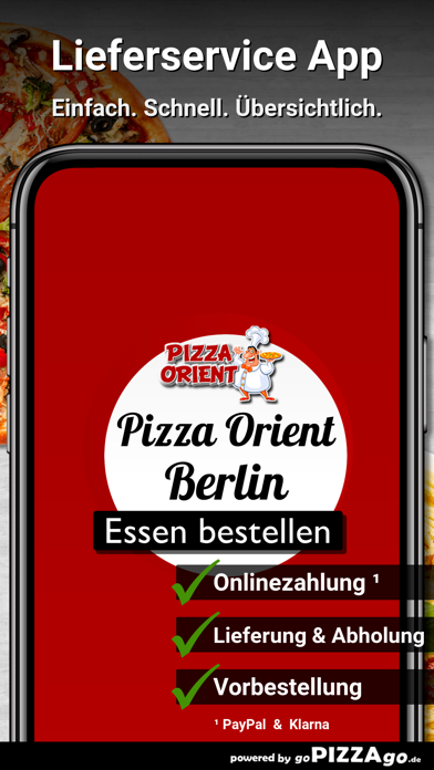 Pizza Orient Berlin screenshot 1