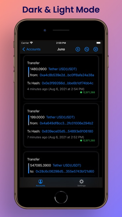 Etherscan Address Tracker screenshot-9