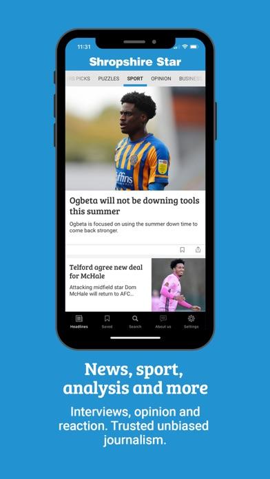 Shropshire Star NewsScreenshot of 3