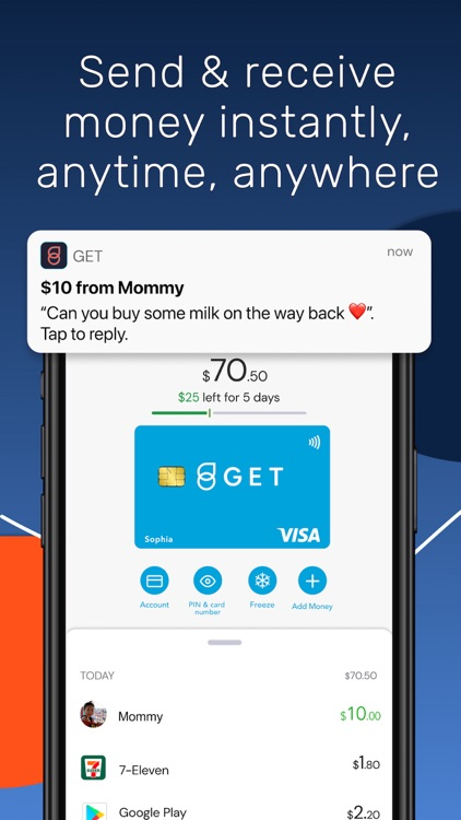 Get - Pocket Money App & Card screenshot-4