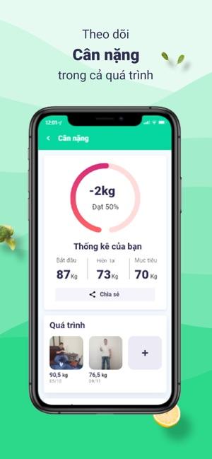 Eatsy - Ứng dụng giảm cân
