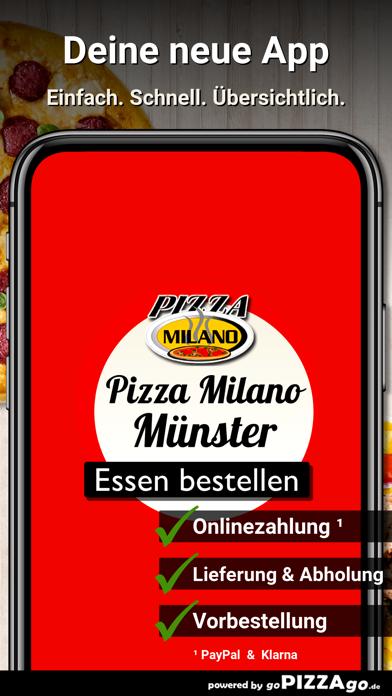 Pizza Milano Münster screenshot 1