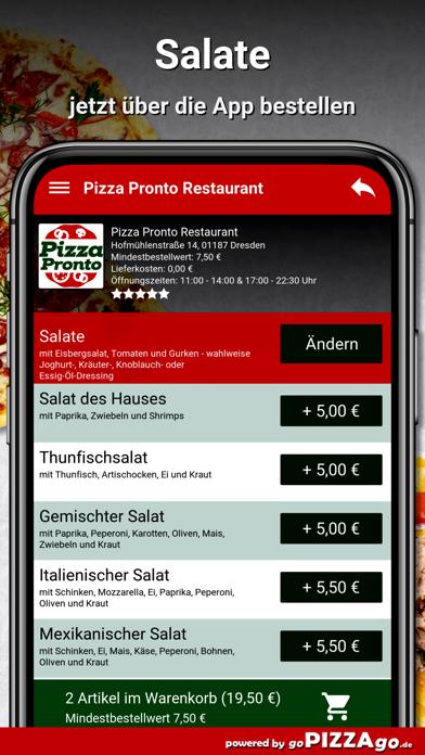 Pizza Pronto Dresden screenshot 5