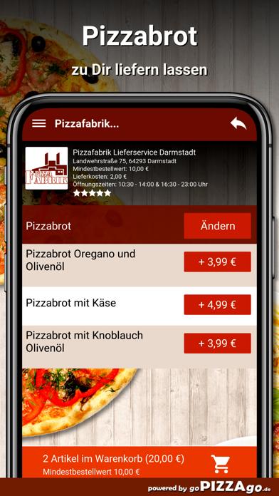 Pizzafabrik Darmstadt screenshot 5