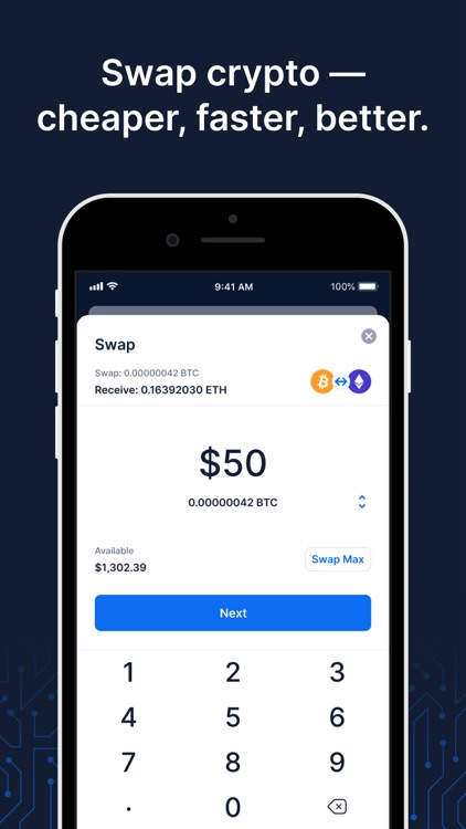 Blockchain Wallet: Buy Bitcoin screenshot-3