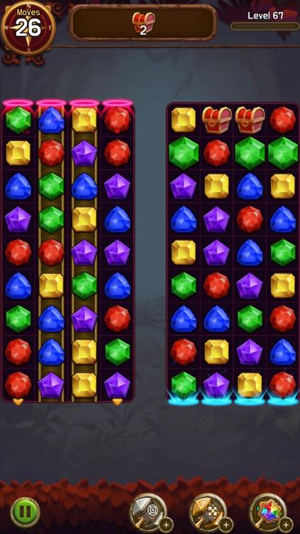 Jewel & Gem Crush-Match Master screenshot-5