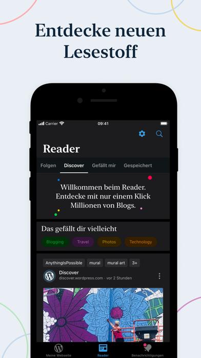 WordPressScreenshot von 3