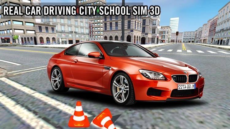 Car Driving School Sim 3d