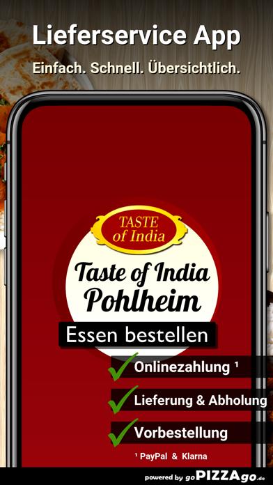 Taste of India Pohlheim screenshot 1