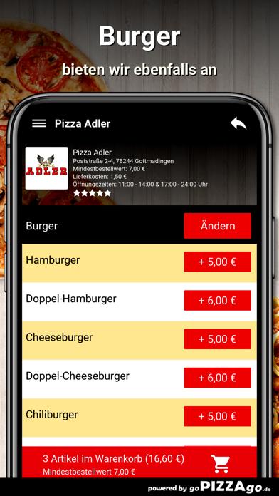 Pizza-Adler Gottmadingen screenshot 6