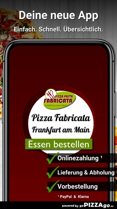 Pizza Pasta Fabricata Frankfur screenshot 1