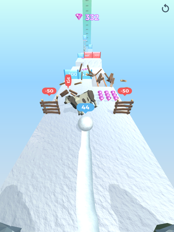 Snowball Effect 3D screenshot 20