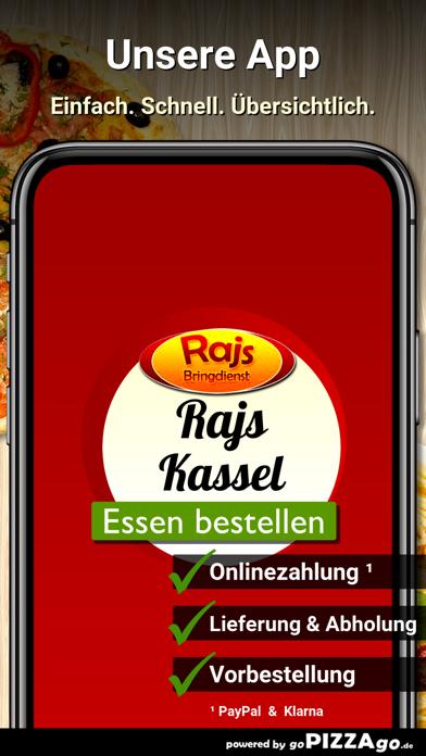 Rajs Bringdienst Kassel screenshot 1