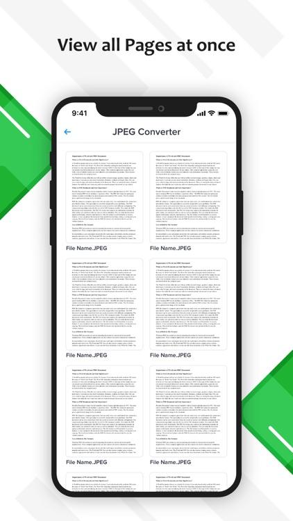 PDF to JPG or PNG
