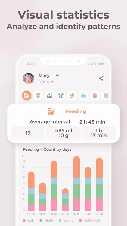 Baby feeding & sleep tracker screenshot-3