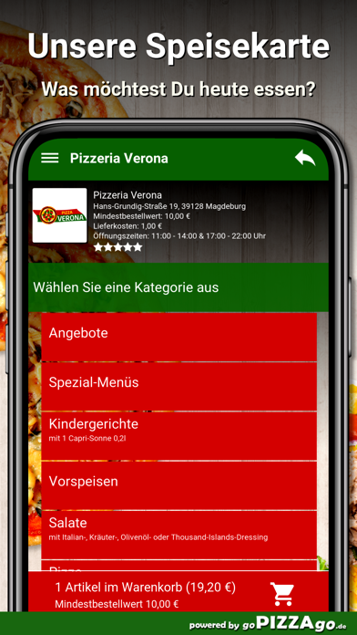 Pizzeria Verona Magdeburg screenshot 4