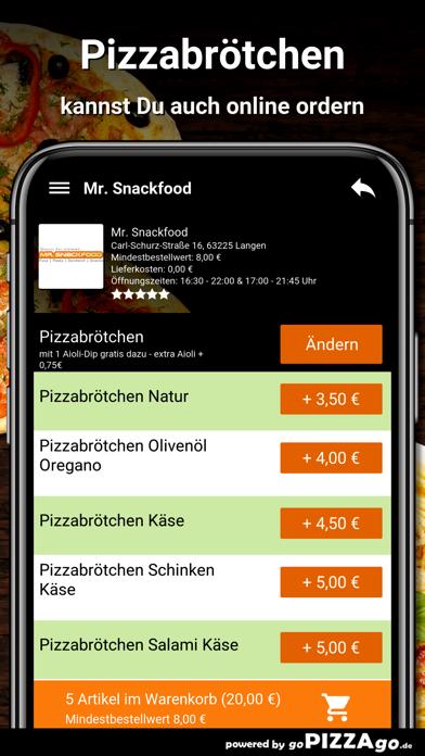 Mr. Snackfood Langen screenshot 5