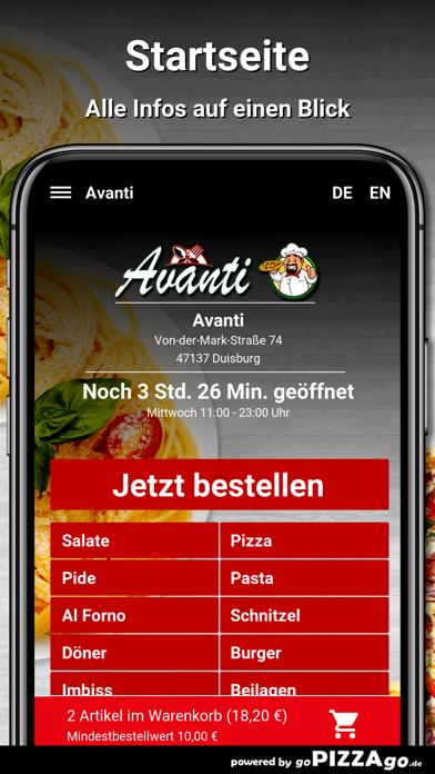 Avanti Duisburg screenshot 2