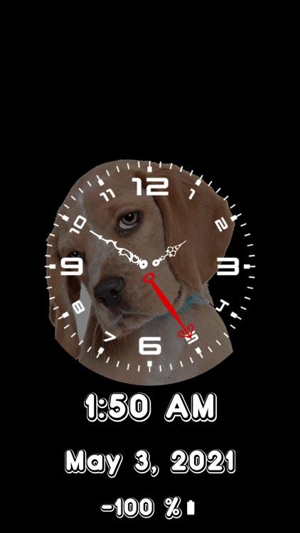 Analog Clock-OLEDX Large Clock