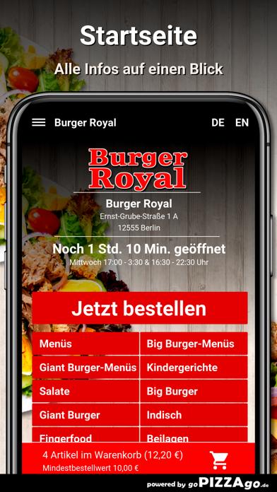 Burger Royal Berlin screenshot 2