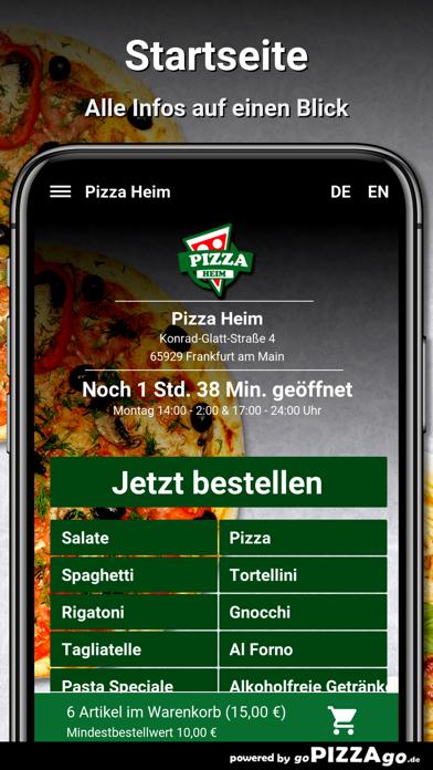 Pizza Heim Frankfurt am Main screenshot 2