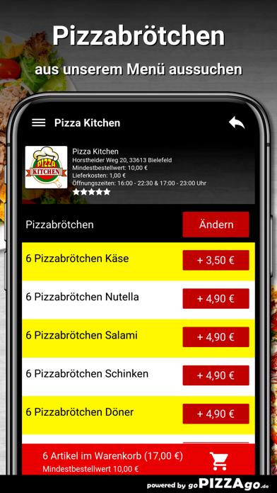 Pizza Kitchen Bielefeld screenshot 5