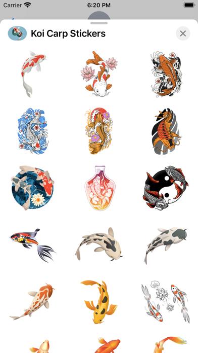 Koi Carp Stickers screenshot 3