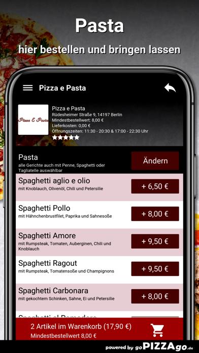 Pizza e Pasta Berlin screenshot 6