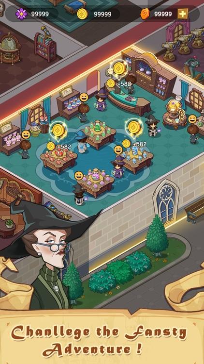 Idle Magic Academy