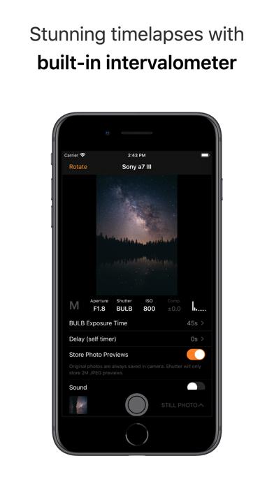 Shutter - Canon EOS Remote screenshot 5