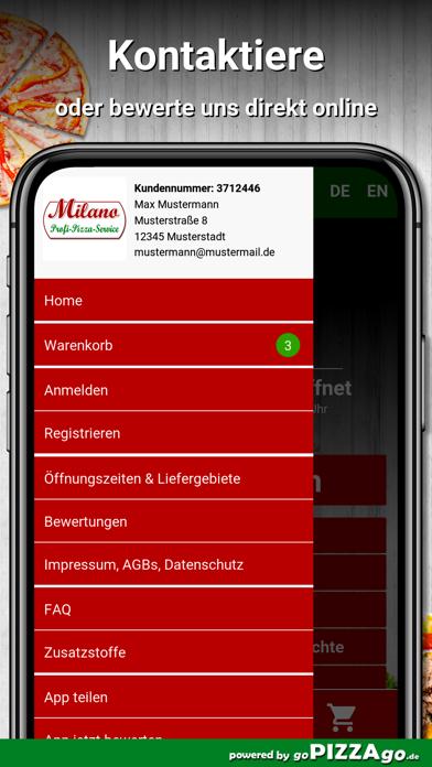 Milano Hamburg screenshot 3