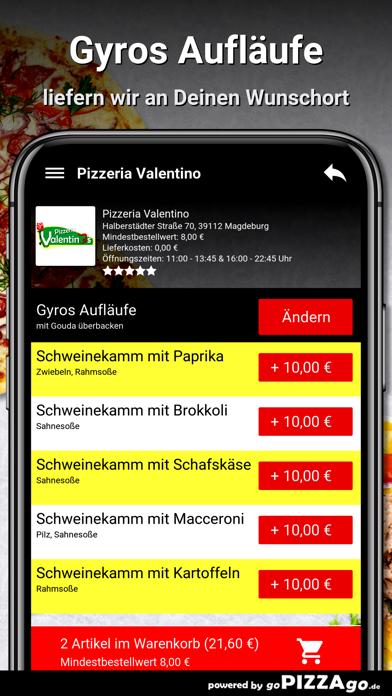 Pizzeria Valentino Magdeburg screenshot 6