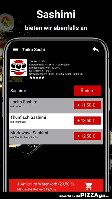 Taiko Sushi Saarbrücken screenshot 6