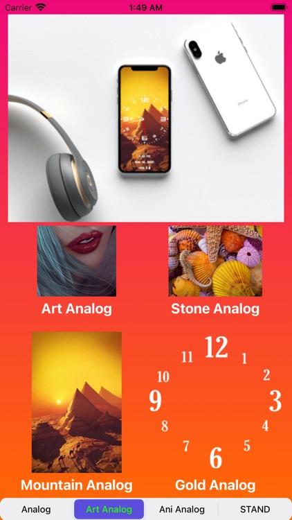Analog Clock~Large Clock Lite screenshot-3