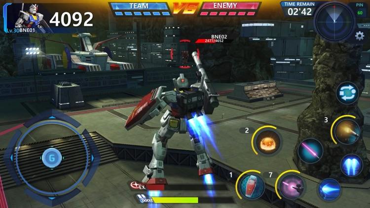 鋼彈 爭鋒對決 screenshot-7