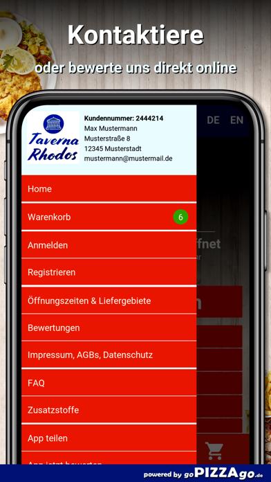 Taverna Rhodos Hamburg screenshot 3