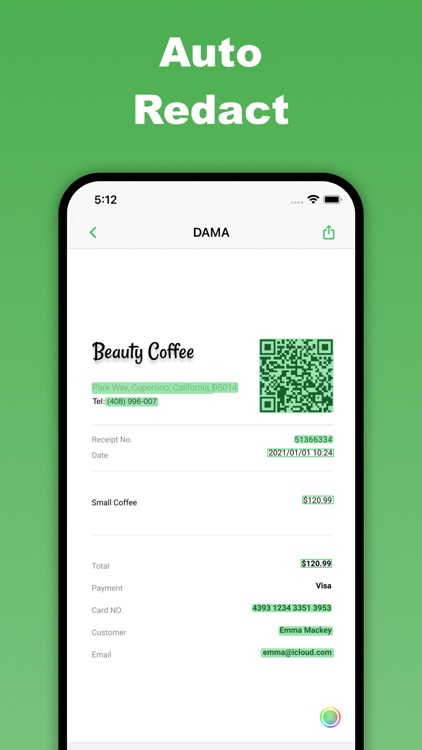 DAMA - Smart Redact
