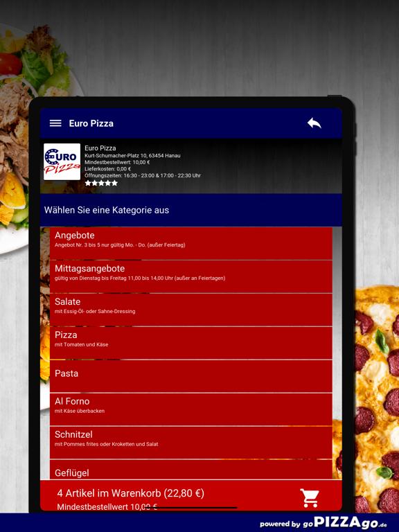 Euro Pizza Hanau screenshot 8